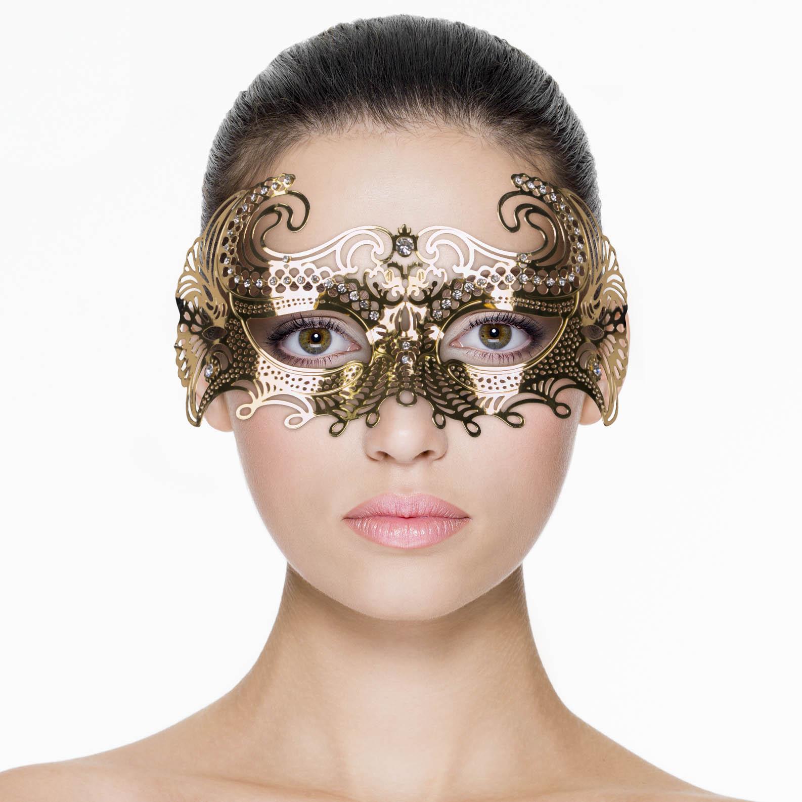 Mascara Metálica