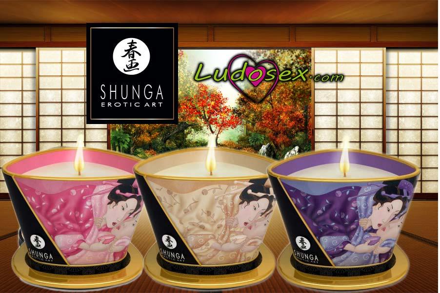 Shunga nuevas velas